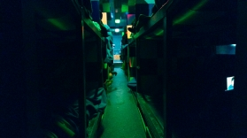 Sleeper bus, Cambodia