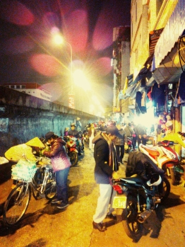 The streets of Hanoi-ying