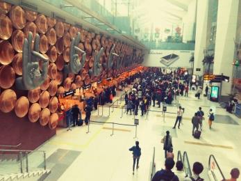 Delhi Airport, India