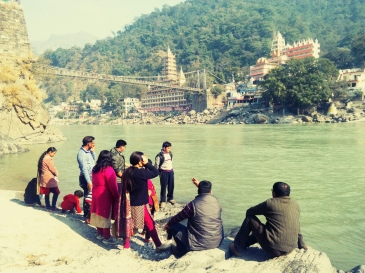 Ganges River, Rishikesh, India